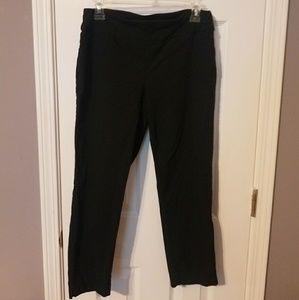 Pants - 8P Black Counterparts Capris